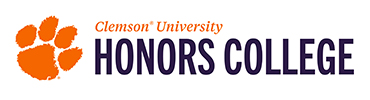 Calhoun Honors College - Clemson University online application menu