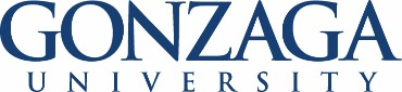 Gonzaga University online application menu