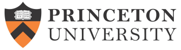 Princeton University online application menu