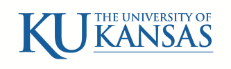 University of Kansas online application menu