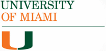 University of Miami online application menu