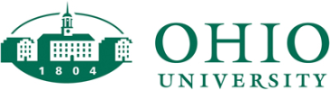 Ohio University online application menu