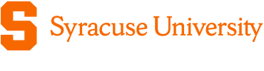Syracuse University online application menu