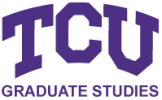 Texas Christian University online application menu